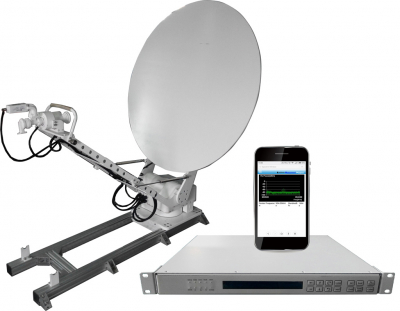 SAM Vehicle Satellite Antenna