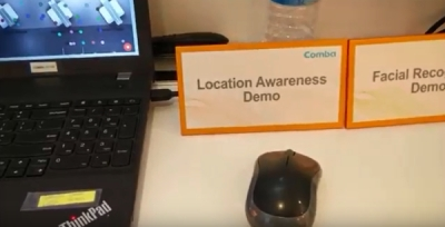 Comba Indoor Location Technology at MWC 2017 - GRIZZLY ANALYTICS