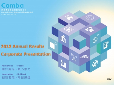 2018 Annual Results Corporate  Presentation