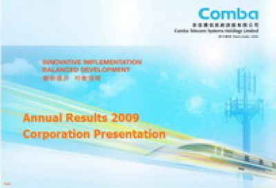 2009 Annual Results Presentation